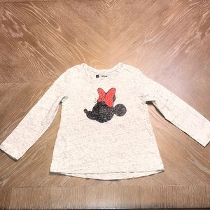 BABY GAP TODDLER GIRLS DISNEY MINNIE MOUSE T-SHIRT